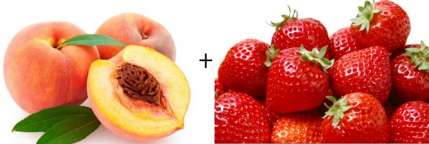 Peach Strawberry